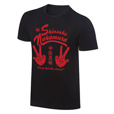 """Official WWE NXT - Shinsuke Nakamura """"Strong Style Has Arrived"""" Vintage T-Shirt"""