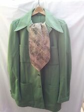 Jack Lord ESTATE 1970s Hawaii 5-0 TV,personal wardrobe ANSON suit pants scarf