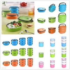 Bento Box Stainless Steel Thermal Insulated Lunch Food Picnic Container New