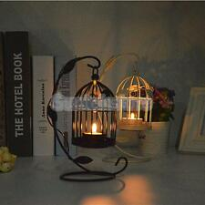 Metal Birdcage Lantern Wedding Table Centrepiece Candle Tea Light Holder Decor