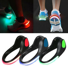 LED Luminous Shoe Night Clip Light Running Sports Cycling Safety Warning Light