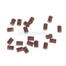 20pcs Sanding Bands Replacement Bits for Nail Art Drill Machine Pedicure Tool