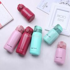 Mini Vacuum Mug Bounce Cap Thermos Stainless Steel CoffeeWater Bottle Travel Cup