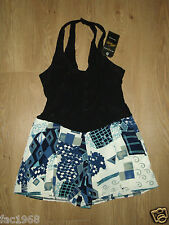 Motel Vintage Womens Gypsy Short Jumpsuit Mini Shorts Dress Size XS/ S New