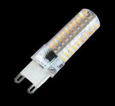10x Dimmable G9 80-4014SMD LED Light BULB 5W 500LM 110/240V Silicone White/warm