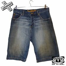 "ANIMAL 'PEZZATI' MENS SHORTS DENIM BLUE SMALL LARGE 30"" 34"" WAIST BNWT RRP £35"