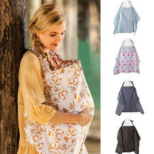 Women Mum Easy-carry Cover Baby Infant Breastfeeding Nursing Blanket Cloth BD