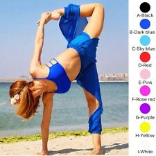 Chiffon Slit Harem Yoga Pant Belly Dance Costume Trouser Tribal Dancer Pants New