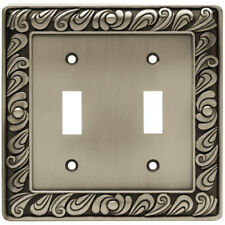 Franklin Brass Paisley Double Switch Wall Plate