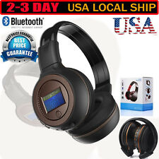 Foldable l3.0 Stereo Bluetooth Wireless Headset/Headphones With Call Microphone