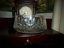 "Waterford Crystal LISMORE 8"" Salad Bowl with FLAW"
