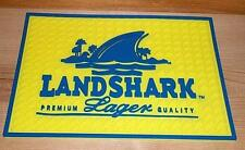LANDSHARK LAGER BEER BAR SPILL MAT GLASS COASTER NEW