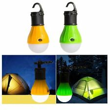 Portable LED Outdoor Camping Tent Light Bulb Hanging Fishing Lantern lamp Torch