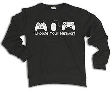 Choose Your Weapon Video Gamer Hoodie Or Sweater Console Controller Gift