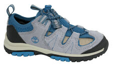 Timberland Zip Trail Fisherman Toddlers Sandals Shoes Grey Blue A17GB U8
