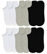 6-12 Packs Ankle Cool Socks Sport Mens Womens Size 10-13 No Show Lot NWT#70033D