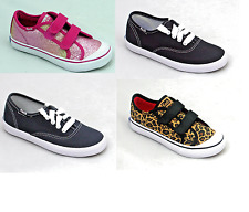 Kid KEDS Toddlers Boy Girl Casual Canvas Shoes Pumps Trainers Sneakers Plimsolls