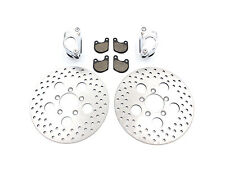Front Dual Disc Calipers and 10 Disc Kit,for Harley Davidson motorcycles,by V...