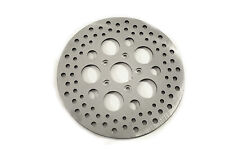 11-1/2 Drilled Front Brake Disc,for Harley Davidson motorcycles,by V-Twin