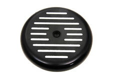 Black Ball Milled Air Cleaner Cover,for Harley Davidson motorcycles,by V-Twin