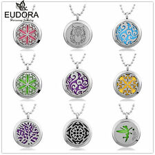 Perfume Lcoket Fragrance Aromatherapy Essential Oils Diffuser  Necklace Pendants
