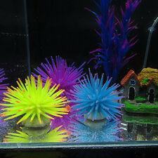 Silicone Aquarium Fish Tank Artificial Coral Plant Underwater Ornament Decor LAC