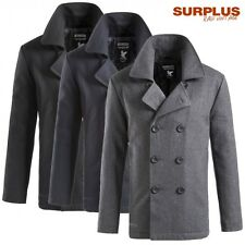 Surplus Jacke Pea Coat Men's US Marine Wool Coat Caban Short Coat Jacket NEU