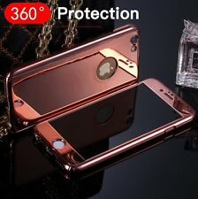 Luxury Silver Plating Mirror Case for iPhone 6 6S 7 Plus Protective Cover Slim