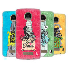 HEAD CASE DESIGNS BICYCLE LOVE HARD BACK CASE FOR MOTO Z / Z DROID