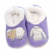 Snoozies Slipper Socks TODDLER ANIMAL SNOOZIES Fabric Foot Covering Slipper