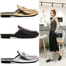 3 Colors LADIES WOMEN FLAT SLIPPER SHOES CASUAL SLIP ON SCHOOL PUMP LOAFERS J