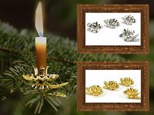 Christmas Tree candle holder Tree Candle Holder into Colours gold or silver