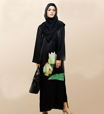 Women maxi dress Muslim Abaya Kaftan Islamic New Clothing Amira Cocktail Dresses
