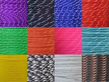 Glow in the Dark 550 Type III 7 Strand Paracord Parachute Cord 10' 25' 50' 100'