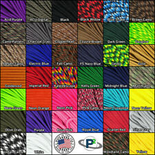 550 Paracord Parachute Cord US Mil Spec Type III 7 Strand 100' No Tangle Spool