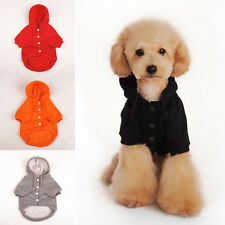 Cute Pet Puppy Dog Hoodie Coat Warm Sweatshirts Apparel Dog Clothes Size S-XL 2U