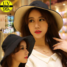 Outdoor Men Ladies Summer Wide Brim Bucket Boonie Sun Hat Pots UV Sun Visor Hat