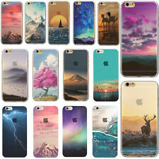 Silicone Ultra Slim Rubber TPU Back Case Cover For Apple iPhone 4s/5s/6s/7 22rs