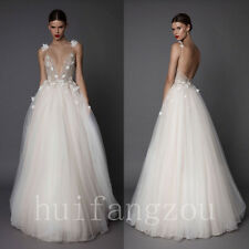 Wedding Dresses Sleeveless Bridal Ball Gowns Formal Beading Beaded Sequins New