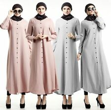 2017 Women Long dress Muslim Dubai Dresses Islamic Kaftan Abaya New maxi dress
