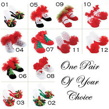 Mud Pie Baby PARTY SOCKS 131241 Christmas Holiday Collection