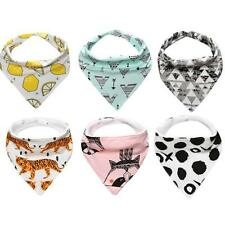 New Baby Cotton Bandana Bibs Feeding Saliva Towel Dribble Triangle Waterproof