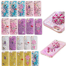 10pcs/lot 3D Diamond Bling Quicksand PC Hard Back Case for iPhone 6 i6P i5 i5C