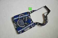 Vera Bradley Large Hipster Crossbody in Canterberry Cobalt
