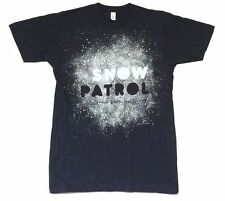 Snow Patrol Storm Taking Back Cities 2009 US CDN Tour Blue T Shirt New Official