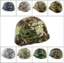 Army Military Helmet Cover For PASGT, M88 Combat Helmet Tactical Gear 6 Color