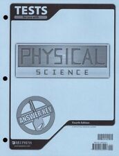 BJU Physical Science Tests Answer Key Grade 9