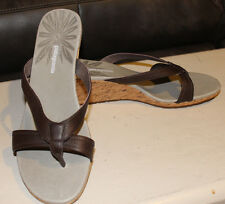 PATAGONIA WOMENS SZ 10 Solimar Wedge Slide Sable Brown SHOE SANDALS T11360