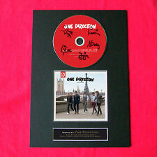 ONE DIRECTION One Thing Album Signed CD COVER MOUNTED A4 Autograph Print 24