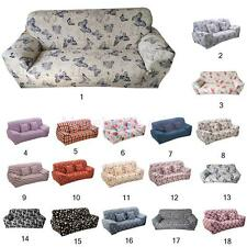Removable 3-seater Sofa Couch Protectors Stretch DIY Soft Slipcover Lounge Cover